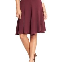 Old Navy Womens Fluted Crepe Skirts Size 18 - Go pinot go