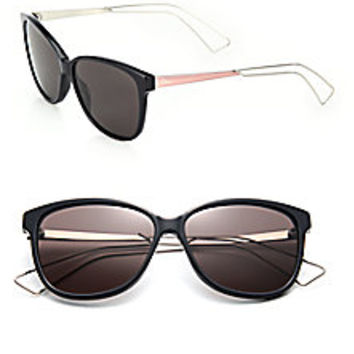 Dior - Confident 57MM Square Sunglasses - Saks Fifth Avenue Mobile