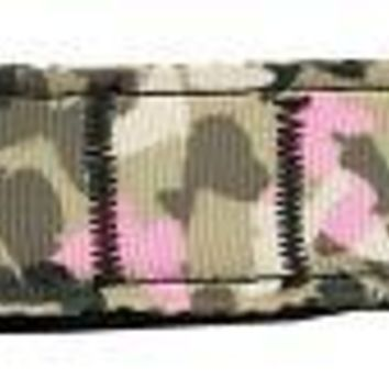Camo Butterflies Nylon Dog Leash 6 Foot