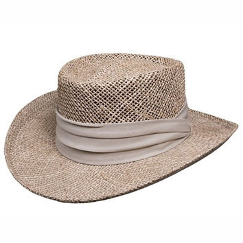 Stetson Glencoe - Seagrass Gambler Hat (Small/Medium)