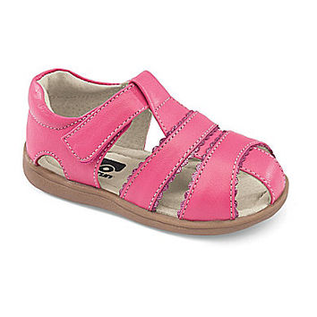 See Kai Run Girls' Gloria II Scalloped Fisherman Sandals