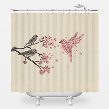 Best Bird Shower Curtain Products on Wanelo