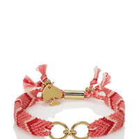 Kate Spade On Purpose Patterned Charm Bracelet Pink Multi ONE