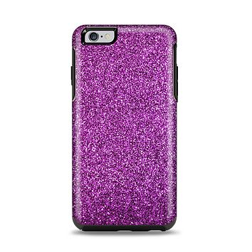 The Purple Glitter Ultra Metallic Apple iPhone 6 Plus Otterbox Symmetry Case Skin Set