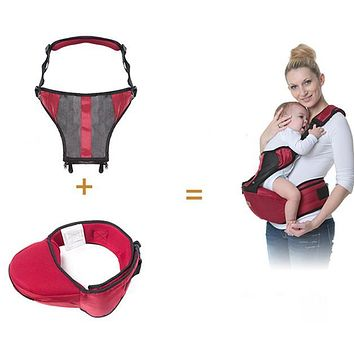 Promotion! Cotton Infant Sling Wrap for Newborns Baby Kangaroo Carriage Toddler Suspenders Baby Care