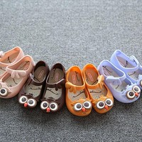 5 color kid Girls Jelly Shoes