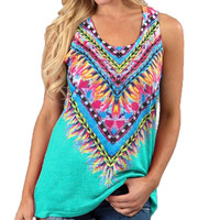 Trend Notes Feather Tank Mint