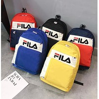 FILA Fashion Sport College Shoulder Bag Travel Bag School Backpack