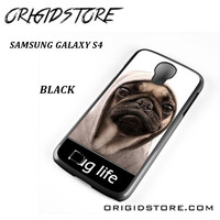 New Design Funny Hilarious Pug Life Parody Fans For Samsung Galaxy S4 Case UY