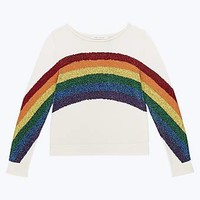 Rainbow Boat Neck Sweater - Marc Jacobs