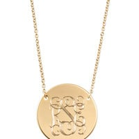 Signature Engravable Disc Necklace