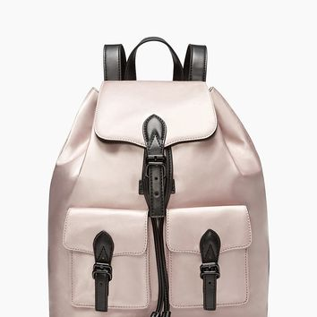 Alice Satin Nylon Backpack