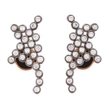 YANNIS SERGAKIS | 18k Gold and Diamond Stud Earrings | Womenswear | Browns Fashion