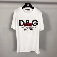 Dolce & Gabbana Women Short Sleeve Bowknot Top