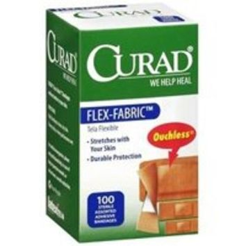 Medline CUR0700 Curad Bandages Assorted, Box of 100