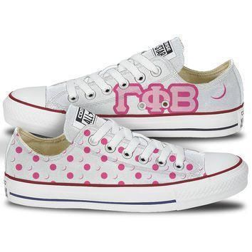 gamma phi beta converse crescent moon low top