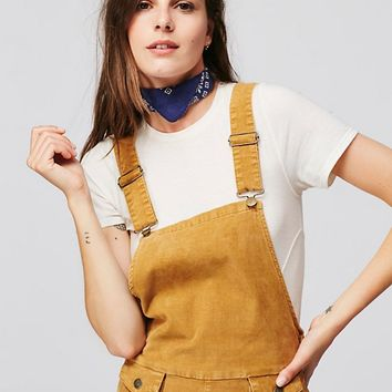 Free People Movin Away Cord Overall