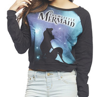 The Little Mermaid Sweatshirt | Wet Seal