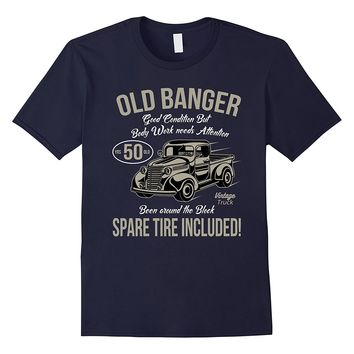 50th Birthday T-Shirt Vintage Old Banger 50 years old Gift