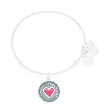 Listen To Your Heart Charm Bangle | Life Is Good Kids Foundation