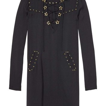 Lace-Up Tencel Dress by Acne Studios