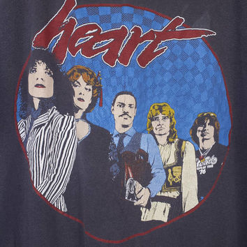 1981 HEART summer tour band shirt - vintage 80s