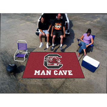 "Fan Mats South Carolina Man Cave Ultimat Rug 60""X96"""