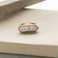 Chiseled in Stone Gold Ring – Dress Up