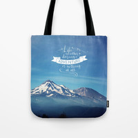daring adventure Tote Bag by Sylvia Cook Photography