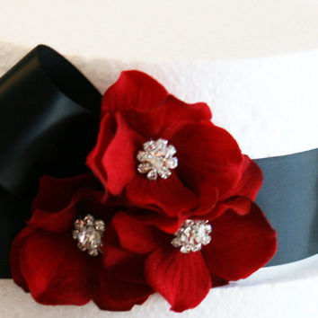 Black and Red Wedding Cake Decorations, Black and Red Wedding Accessory, Cake Decoration, Birthday Cake Decorationd, 50th Birthday