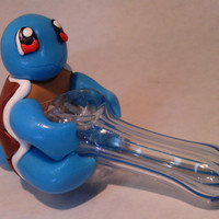 Custom Cute Squirtle Pipe Pokemon