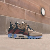 NIKE Air Max 90 Sneakerboot ICE - Dark Dune / Barkroot Brown