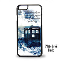 Tardis Doctor Who Smoke for iPhone 6, iPhone 6s, iPhone 6 Plus, iPhone 6s Plus Case