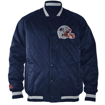 New England Patriots Fair Catch Quilted NFL Jacket