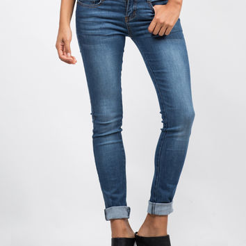 Classic Blue Skinny Jeans