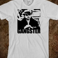 Vintage Al Capone Chicago-Style 'Gangster' T-Shirt
