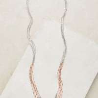 Candlelit Necklace by Anthropologie in Silver Size: One Size Necklaces