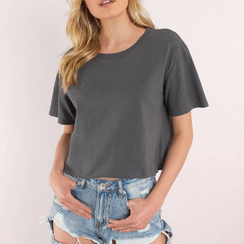 By the Rules Cropped Tee