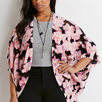 Watercolor Floral Cardigan