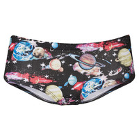 Galactic Planet Print Cheeky Pants - Lingerie & Nightwear - Clothing - Topshop