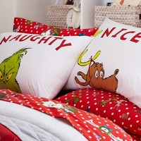 Grinch™ Festive Flannel Sheet Set
