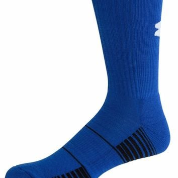 Under Armour Royal Blue Team Crew Socks