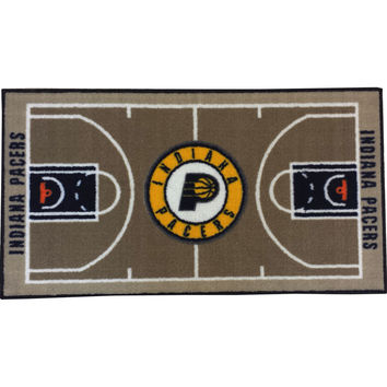 NBA Indiana Pacers Rug Basketball Runner Carpet