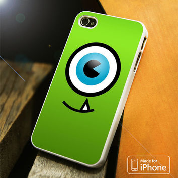 Disney Mike Wazowski Monster Inc Eye iPhone 4(S),5(S),5C,SE,6(S),6(S) Plus Case