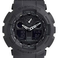 G-Shock 'Big Combi' Watch, 55mm x 51mm - Black/ Black