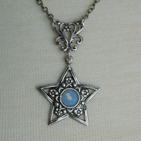 STAR SPELLS - Swarovski Crystal Necklace by Crow Haven Road