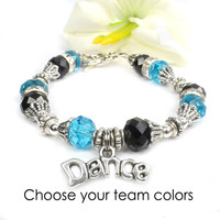 Dance Bracelet - Personalize to your dance team colors.
