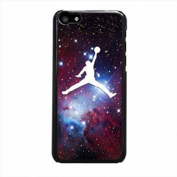 michael air jordan art jumping star cone nebula iphone 5c 4 4s 5 5s 6 6s plus cases