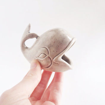 Whale Ring Holder - Grey Ceramics - Ring Dish