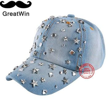 New Fashion Baby Beauty Baseball Cap Custom Star crystal luxury snapback hats for children girl boys sports gorras casquette